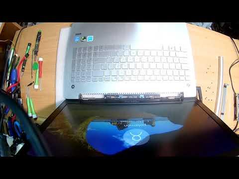 Разбираем ноутбук Asus N550J. Серия №1
