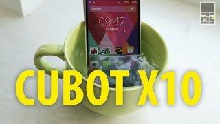 Cubot X10 - бюджетный защищенный смартфон из Китая