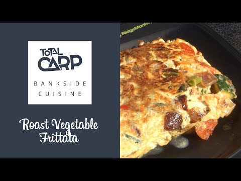 Total Carp Bivvy Cuisine with Simon Bishop - Frittata