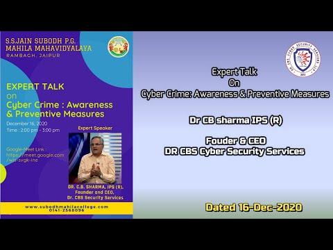 Cyber Crime: Awareness & Preventive Measures