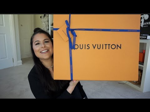 LOUIS VUITTON Unboxing + Samorga Reveal