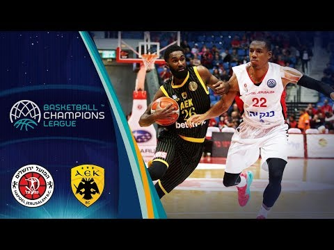 Hapoel Bank Yahav Jerusalem v AEK - Highlights - Basketball Champions League 2018-19