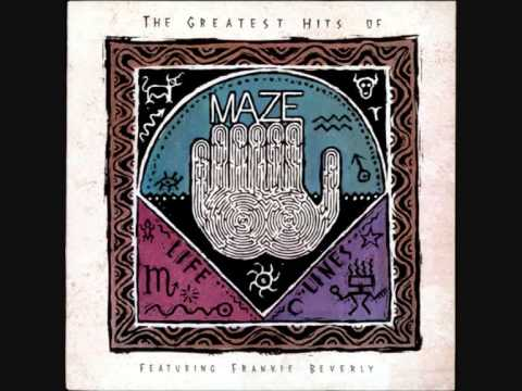"MAZE feat. FRANKIE BEVERLY feat. KURTIS BLOW. ""Joy and Pain"". 1989. album version."