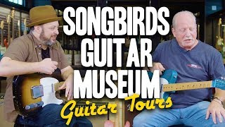 Songbirds Guitar Museum Part 1: Fender | Marty's Guitar Tours