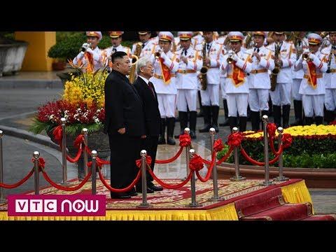 Toàn cảnh Lễ đón Chủ tịch Kim Jong-un thăm chính thức Việt Nam