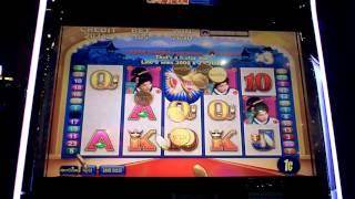 Aristocrat All Stars Geisha Slot Machine Bonus
