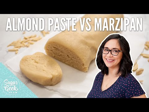 What Is The Difference Between Almond Paste And Marzipan?