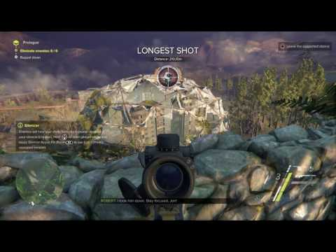 Sniper: Ghost Warrior 3 - First glimpse gameplay ending with game crash