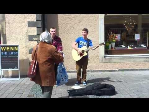 Straßenmusiker Detmold