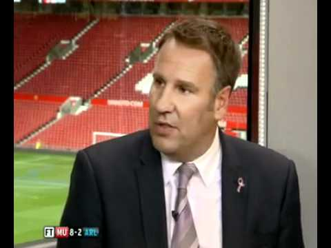 Paul Merson and Gary Neville agree that Arsenal are far behind Man Utd.