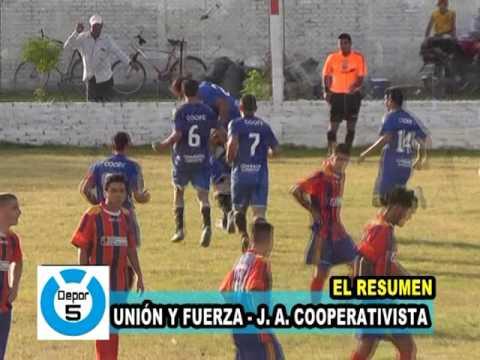 EL RESUMEN: UNIÓN Y FUERZA vs J. A. COOPERATIVISTA