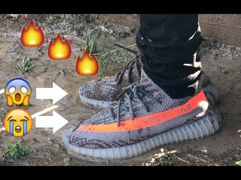 HOW TO CLEAN ANY YEEZY 350 BOOST ! (MUD OR ANYTHING)