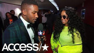 H.E.R. Dishes On Her 'Hard Place' 2019 Grammys Performance & Her Favorite Stars Of The Night!