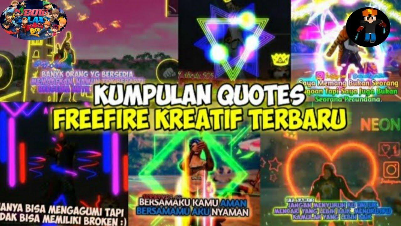 Quotes free fire terkeren #editorberkelas