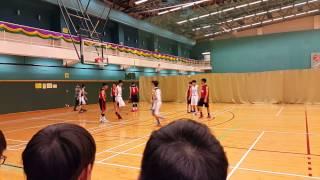 屯門 B grade 籃球學界四強 南官vs譚李