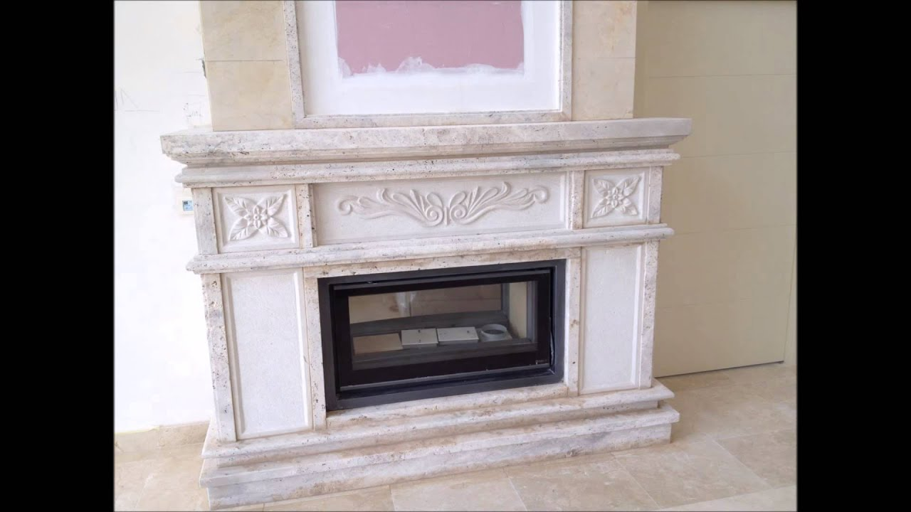 Fabricaci n y montaje de chimenea de m rmol youtube for Imagenes de marmol