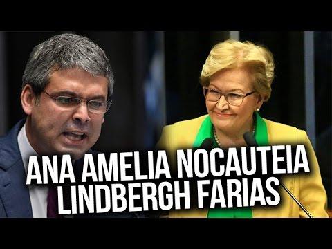 Lindbergh é nocauteado por Ana Amélia no senado