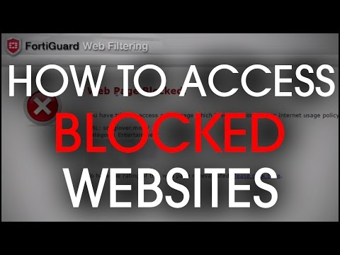 How to bypass/unblock websites fortiguard Webfilter using simple menthod from YouTube · Duration:  5 minutes 20 seconds
