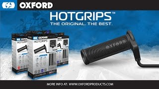 Official Oxford Hotgrips: Install in 10 minutes