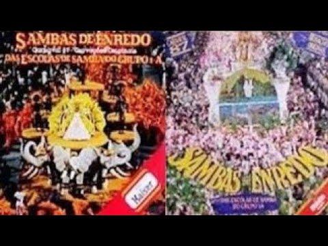 🎵 Grandes Sambas de Enredo Especial (Carnaval Rio 1987 / 1988 / 1989) 🎵