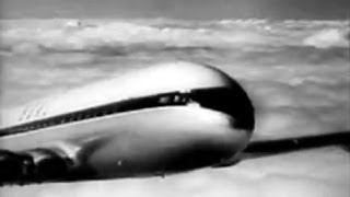 BOAC De Havilland Comet 3 Newsreel - 12/5/55