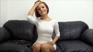 Repeat youtube video Backroom casting couch -  Cute redhead