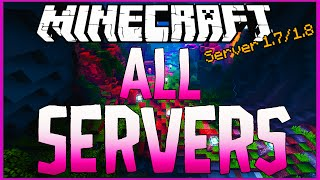 DIVULGAÇÃO DE SERVER 1.7 / 1.8 All Servers - Ep.391 ( ONLINE )