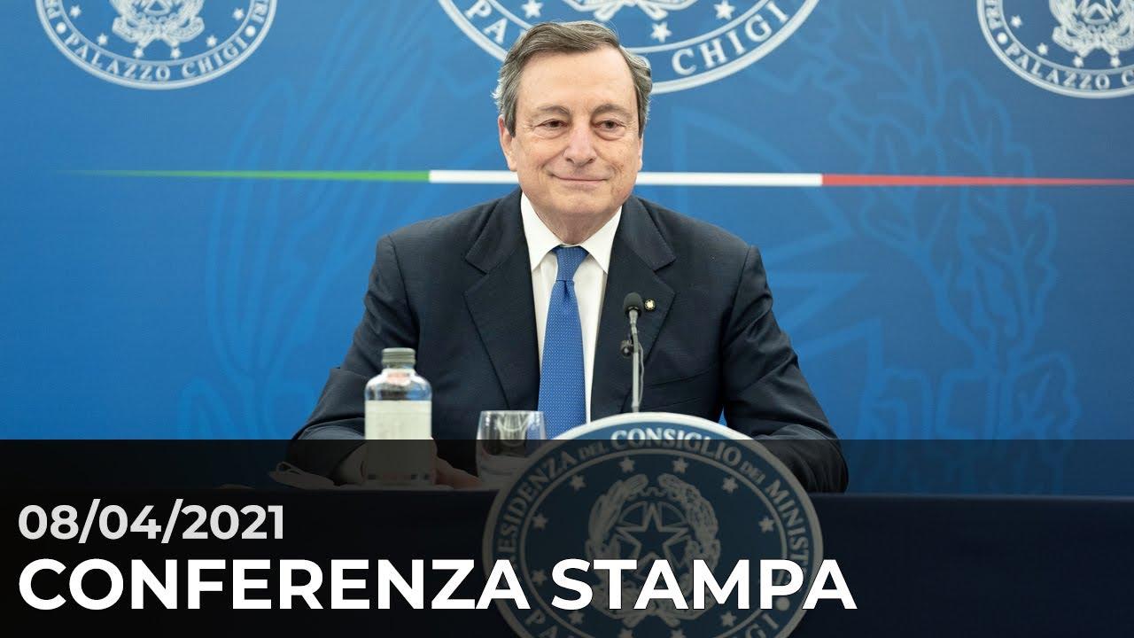 Conferenza stampa del Presidente del Consiglio Mario Draghi - YouTube