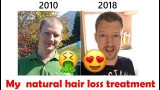 🙀 Natural hair loss treatment 1/4