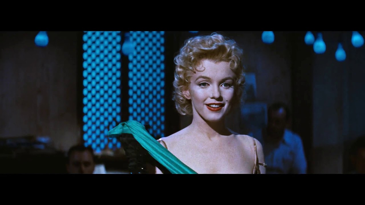 "Marilyn Monroe in ""Bus Stop"" – ""That Old Black Magic"""