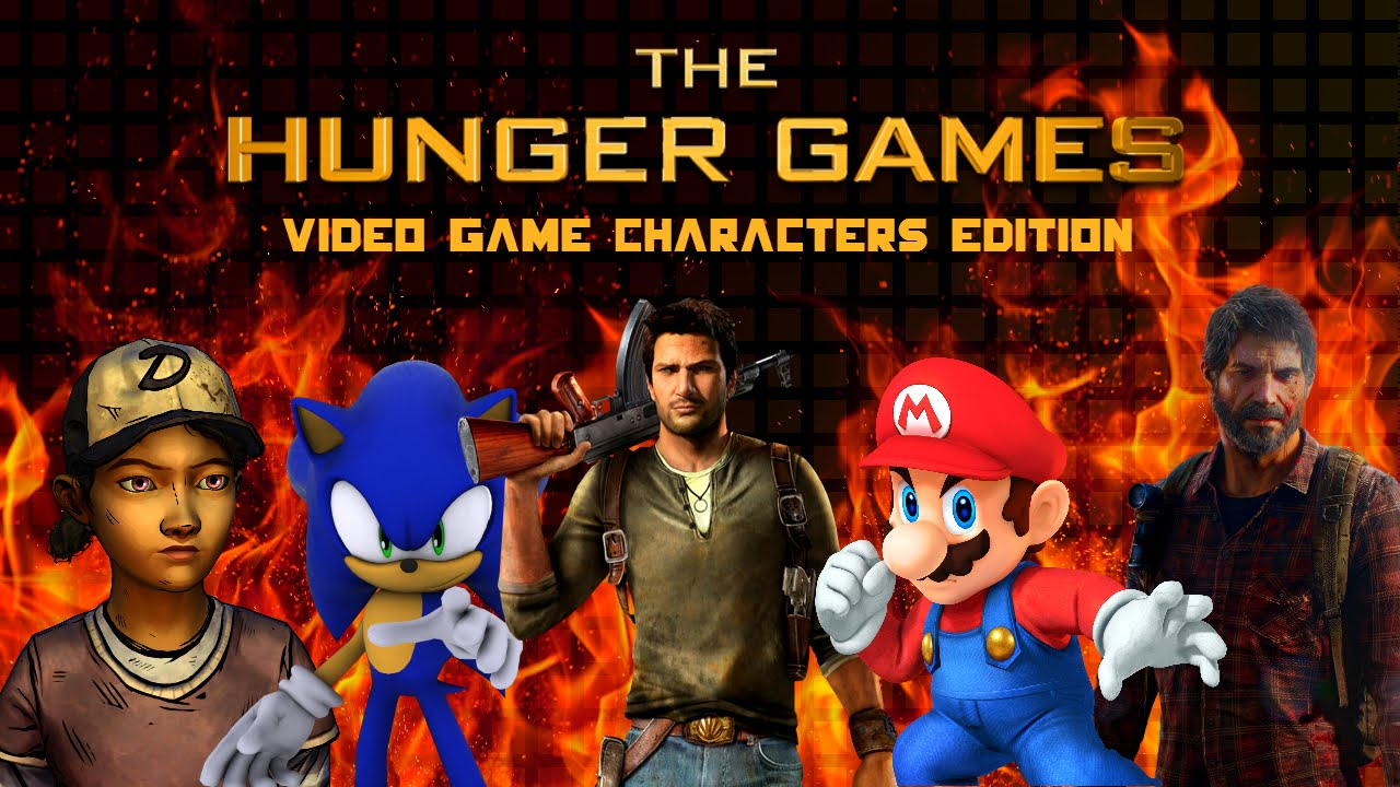The Hunger Games (Simulator): Video Game Characters ...