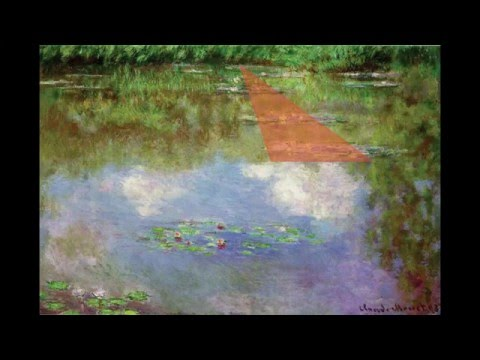 Golden Ratio Composition Claude Monet's Water Lilies: Golden Number Phi 1.618 Rectangle & Spiral