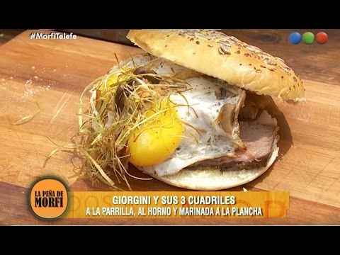 Receta: Sandwich de Cuadril - Especial La Peña de Morfi