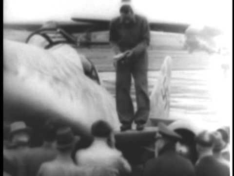 ME-262 WITH JET PROPULSION POWER PLANT