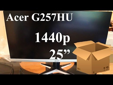 acer g257hu unboxing budget