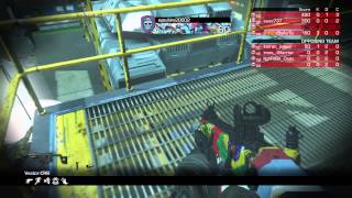 COD Ghosts reinforce vs full party gameplay