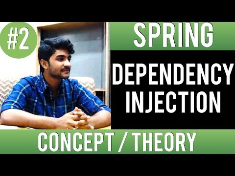 What is dependency injection in spring [ Getting started ] | Spring framework tutorial for beginners