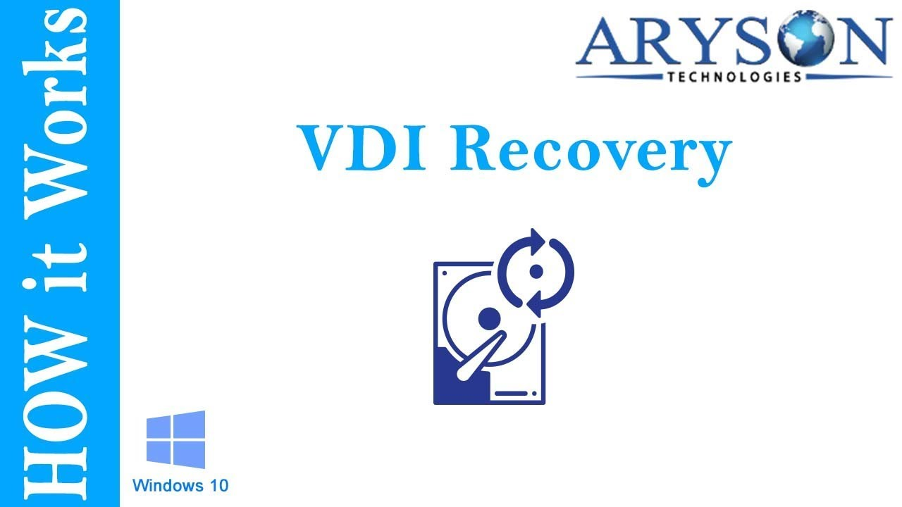 VDI Recovery Software to Recover Oracle  vdi files