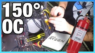 How to Kill Your Motherboard: 150° Overclock