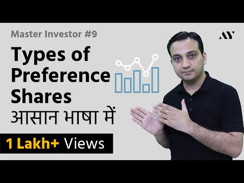 Types of Preference Shares (Preferred Stock) - Explained in Hindi