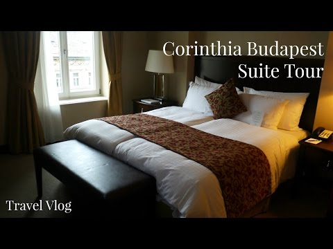 Corinthia Budapest Suite Tour | Budapest Five Star Hotel | Lux Life