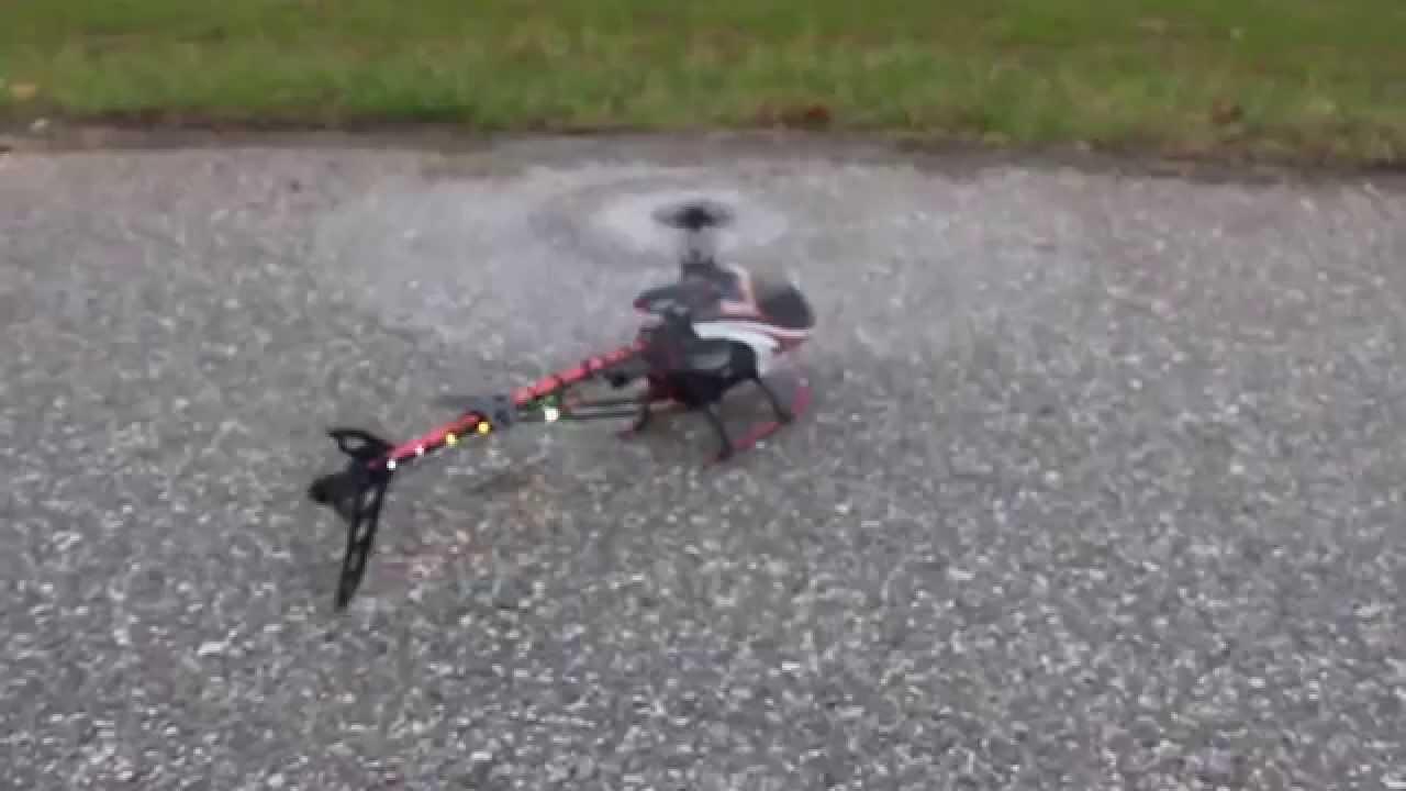 Elicottero 450 : Elicottero rc falcon 450 3d con led suono motore 1 youtube