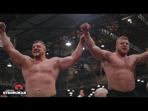 Scotland's Strongest Man 2019 - The battle of the Stoltmans