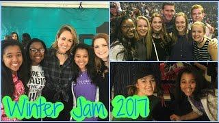Met Sadie Robertson & Britt Nicole?! WINTER JAM 2017 | Radical Riley's
