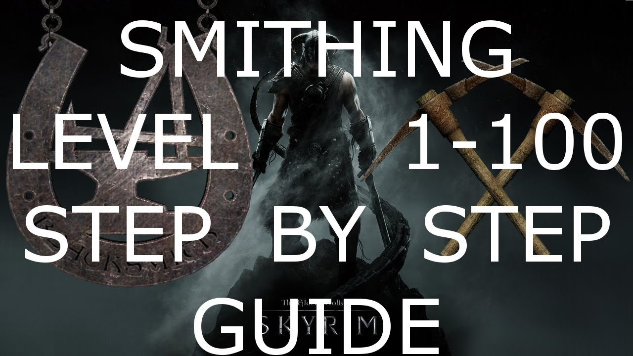 Skyrim How To Level Up Smithing Fast After Patch 1