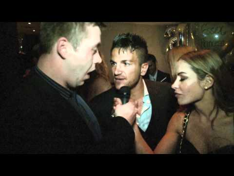 Peter Andre (with Elen Rivas) Interview for iFILM LONDON / AMY CHILDS 21ST.