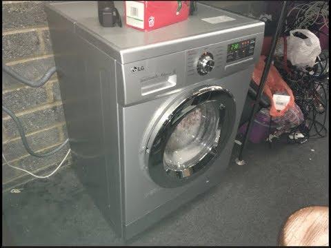 British Heart Foundation - LG DirectDrive 6-Motion F1496AD5 8kg Washer Dryer