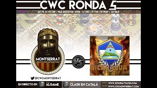 [RESUMEN FINAL]: CWC Montserrat VS CWC Nicaragua - 30vs30 War! G1 - ROUND 5! Clash of Clans-[ALGAME]