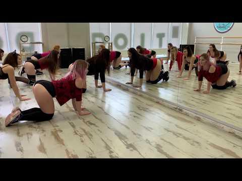 NK | НАСТЯ КАМЕНСКИХ - ПOПА КАК У КИМ | Beginners | D4B.IN.UA | Choreo by Gromovaya Margarita