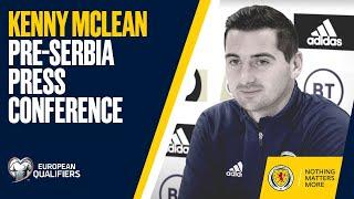 Kenny McLean Press Conference   Serbia v Scotland   UEFA EURO 2020 Play-Off Final